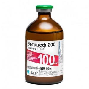 Ветацеф 200 100мл